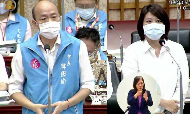韓國瑜批「<b>光復高雄</b>」其心可誅 罷韓團體:代替市民討回