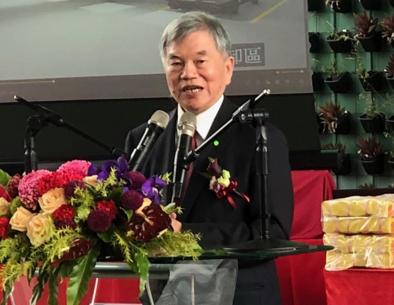 ▲經濟部部長沈榮津致詞。(圖/記者黃守作攝,2020.05.19)