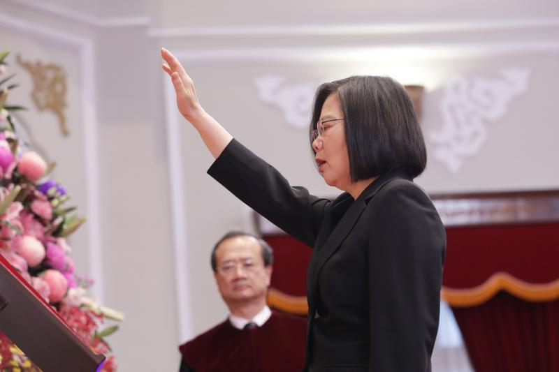 ▲蔡英文於20日就任中華民國第15屆總統。(圖/總統府提供)