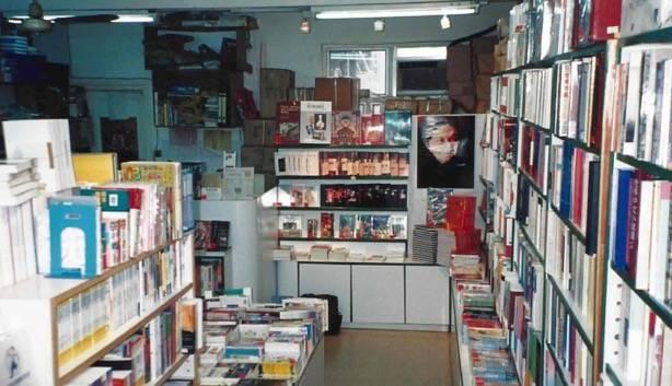 ▲香港銅鑼灣書店一隅,整間店擁有2萬本藏書。(圖/林榮基提供)