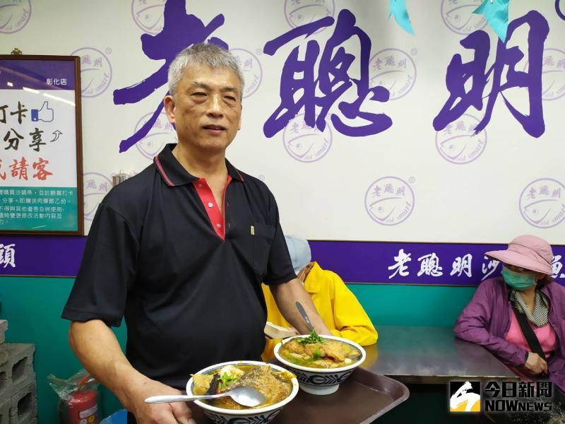 ▲吳文彬表示,選在520國家的大日子開幕,希望能分享國家的喜氣。(圖/記者葉靜美攝,2020.05.20)