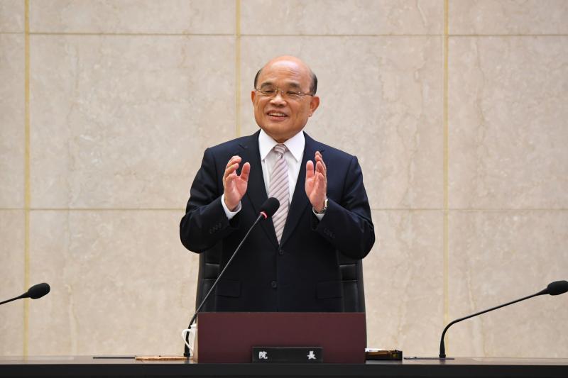 ▲行政院長蘇貞昌(圖/行政院提供)