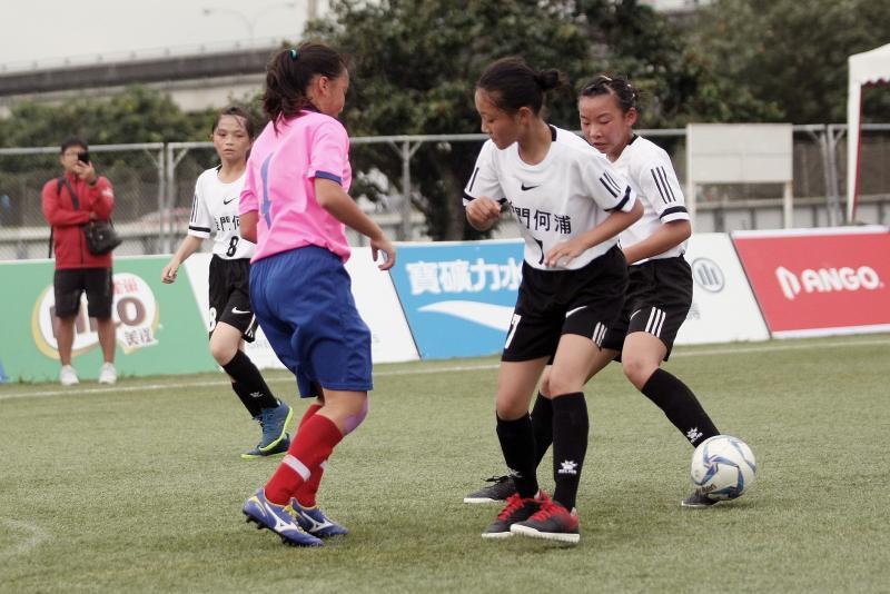 ▲國小世界杯全國賽在台北市熱鬧開踢。(圖/迷你足球協會提供)