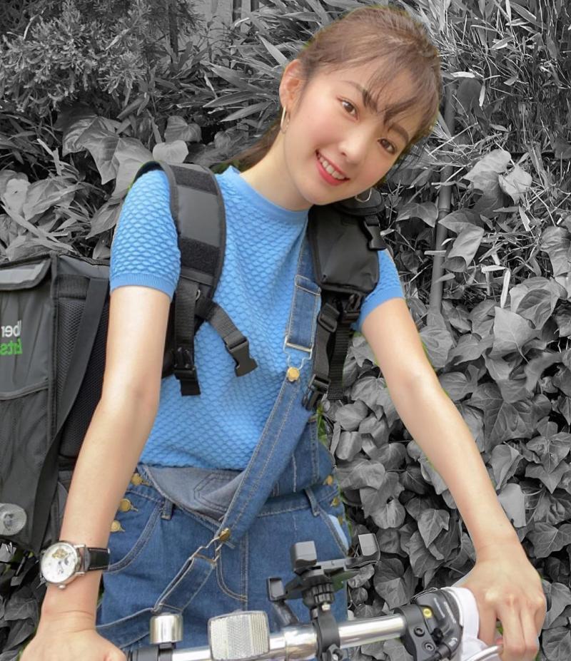 ▲鄰家女孩氣質十分可愛。(圖/翻攝自神谷由香