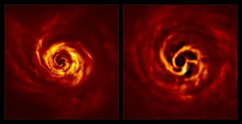 宇宙行星怎麼誕生?歐天文台捕捉到「扭曲點」:<b>人類</b>首見