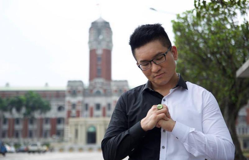 ▲「金色力量黨」黨主席、前台北市議員童仲彥。(圖/翻攝自臉書)