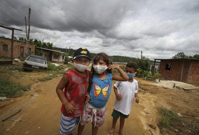 ▲新冠肺炎在拉丁美洲持續延燒,圖為近日巴西。(圖/美聯社/達志影像)