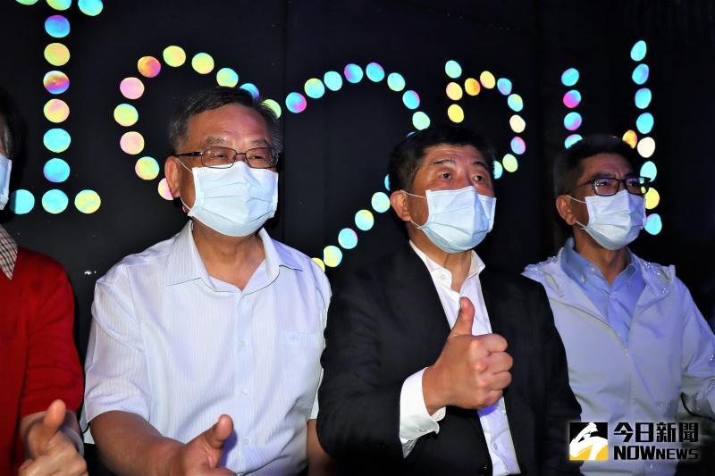 ▲賴峰偉楊曜都邀請陳時中今年7月6日花火節開幕時共襄盛舉。。(圖/記者張塵攝,2020.05.22)