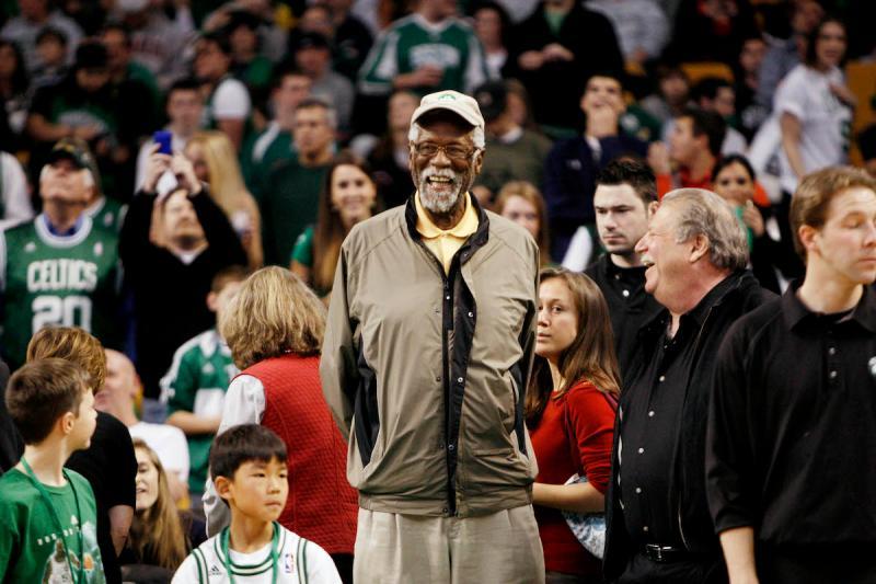 NBA傳奇球星Bill Russell(圖/美聯社/達志影像)