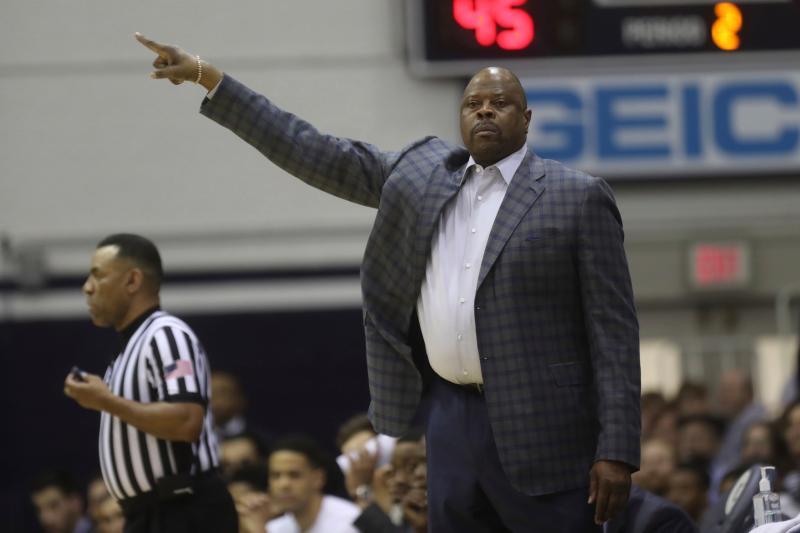 紐約尼克傳奇中鋒Patrick Ewing限於喬治城大學擔任教練