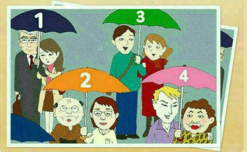 ▲韓國爆紅心理測驗!圖中哪對情侶是不倫戀?揭你內在性格。(圖/翻攝自《香港01》)