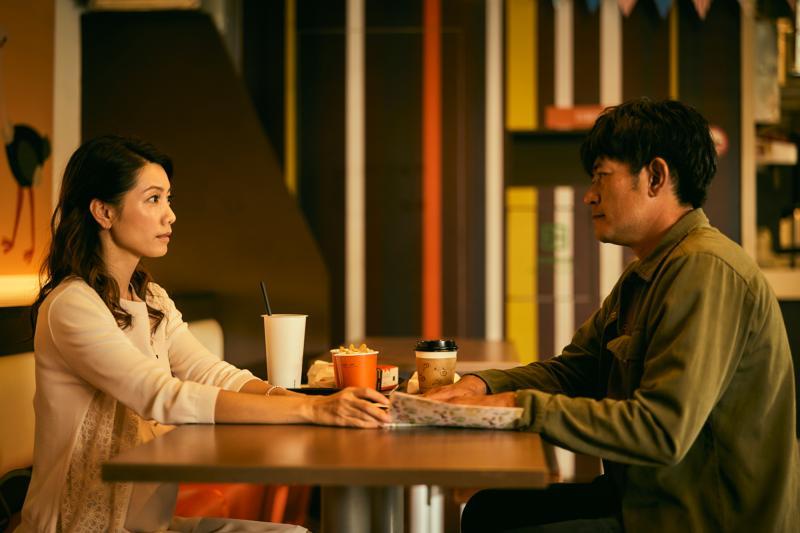 ▲林韋君飾演柯叔元(右)前女友。(圖
