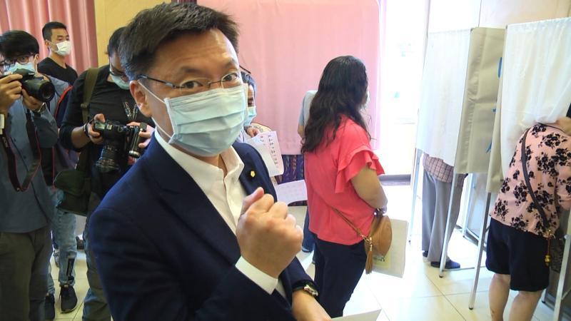 民進黨高市黨部<b>主委</b>趙天麟當選 高閔琳發文「一起,罷」