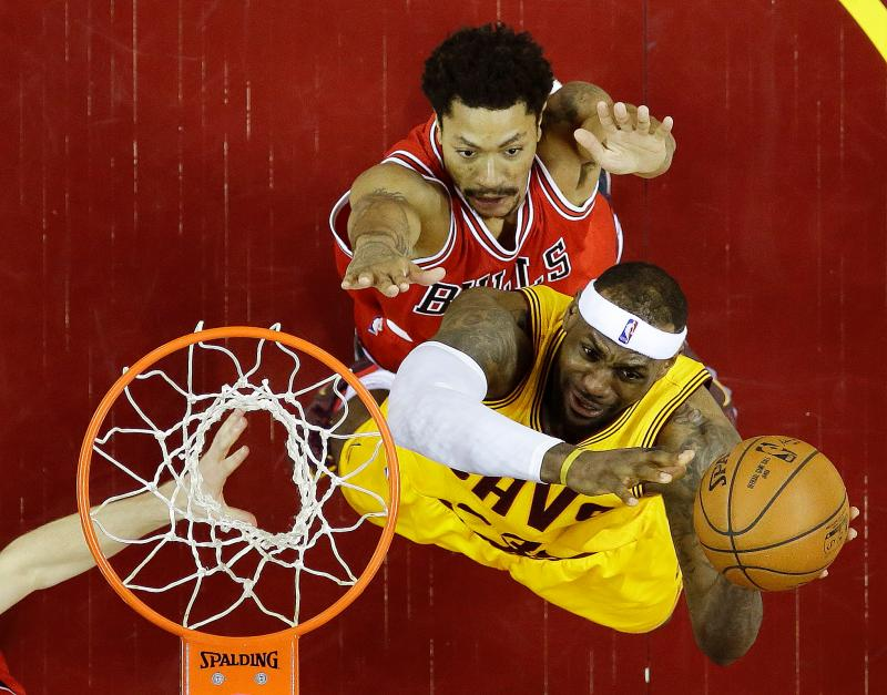 Derrick Rose和LeBron James曾有望並肩作戰