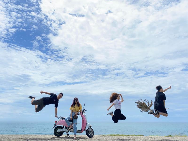 ▲專業攝影師還可以拍出騎乘飛天掃帚的照片。(圖|達哥逍遙遊提供)