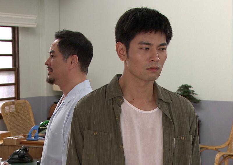 ▲林健寰(左)、楊子儀飾演同父異母的兄弟。(圖