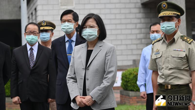 ▲蔡英文26日駁斥江啟臣說她切割香港,表示將會對此作出完整說明。(圖/記者林柏年攝 2020.05.26)
