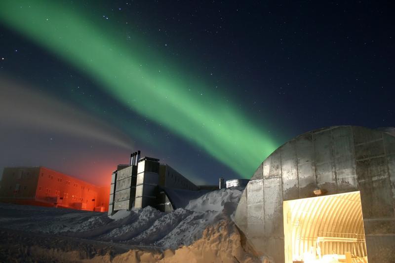 ▲南極洲研究機構。(圖/取自 Pixabay )