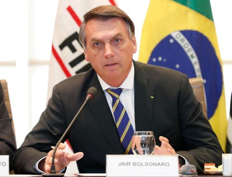 ▲巴西總統波索納洛(圖/取自波索納洛 官方臉書)