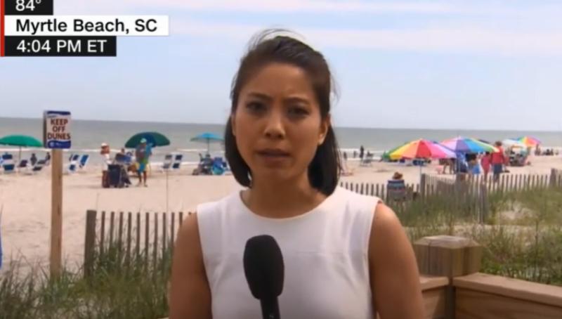 摘下口罩滾出美國!CNN台裔女記者採訪遭辱罵
