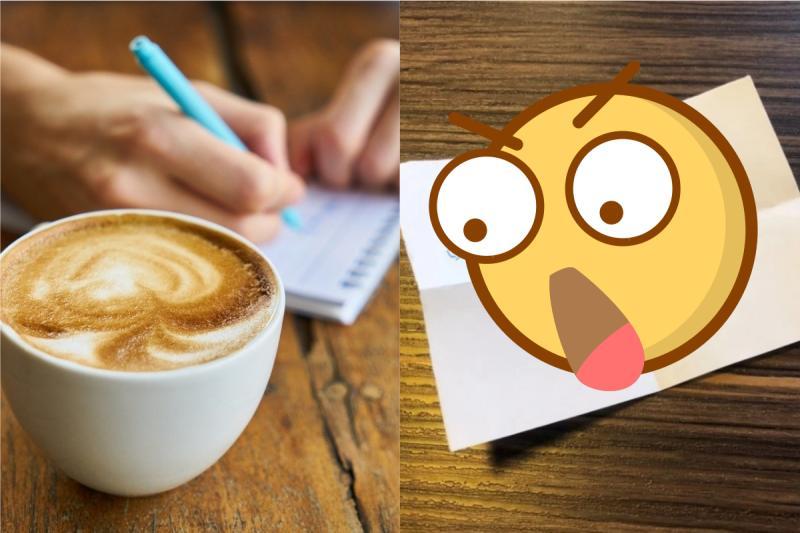 女大生咖啡廳內狂咳被側目!下秒驚收「小紙條」惹哭全場