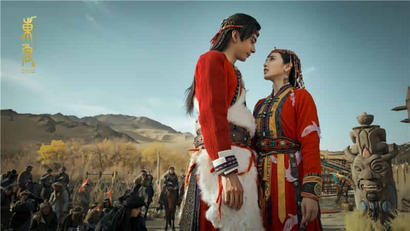 ▲李承鄞(左)化名「顧小五」,成婚當日滅九公主小楓全族。(圖