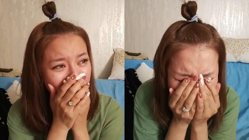 為輕生念頭道歉!李妍憬痛哭失聲「不想一直被妖魔化」