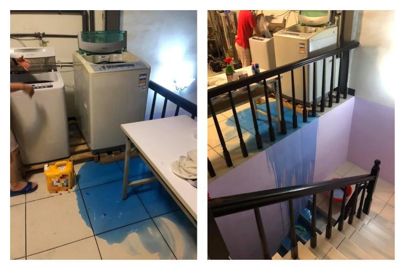 洗衣精「自爆」!出現藍色瀑布好崩潰 眾驚:我家也爆過