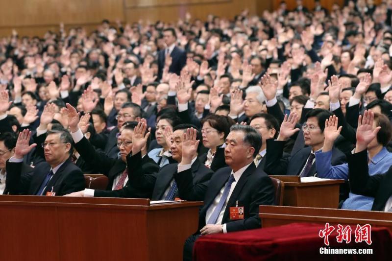 中國高官紛表態支持港版國安法 法媒批:都是舉手機器