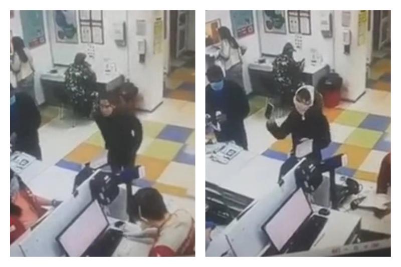 領包裹未戴口罩遭郵局拒絕 女子竟「脫內褲套頭上」抗議