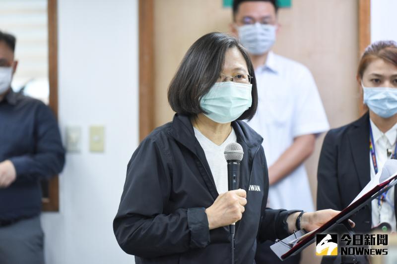 台灣撐香港?蔡英文:行政院將提人道救援專案