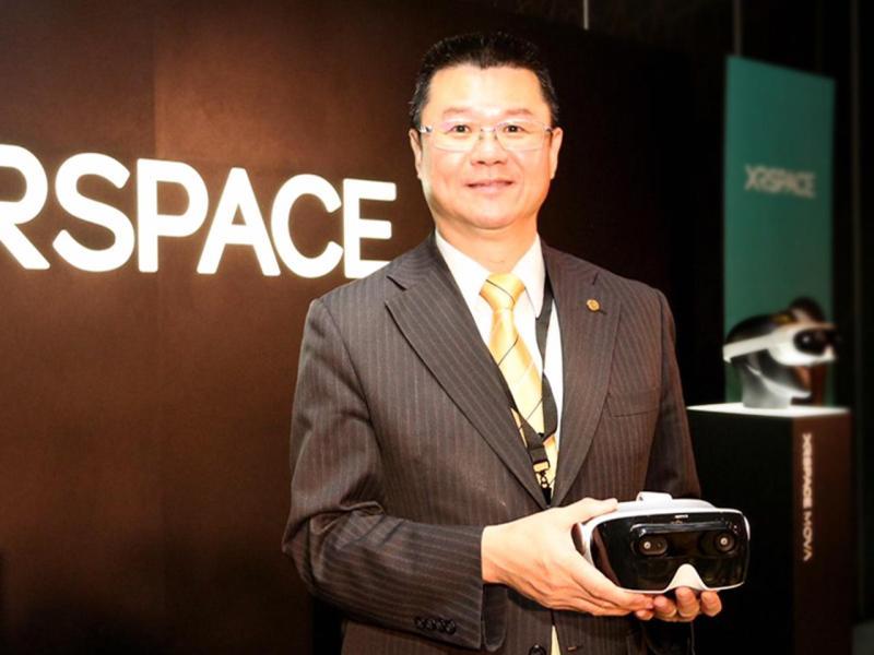 ▲永慶房產集團成為第一個跨足5G服務的房仲業者,未來消費者只要戴起XRSPACE