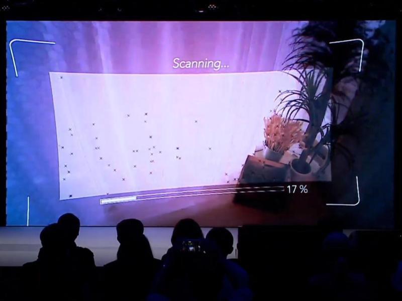 ▲利用「空間掃描」功能,就能將實體房屋空間複製到虛擬世界。(圖/資料照片)