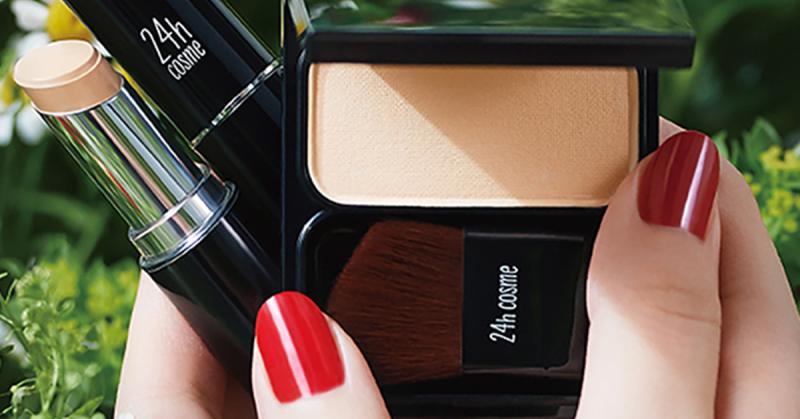 日系24h Cosme礦物系彩妝 讓妝感不再沉悶