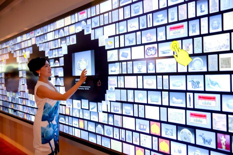 故宮全新大廳開幕!亞洲最大智慧互動牆亮相