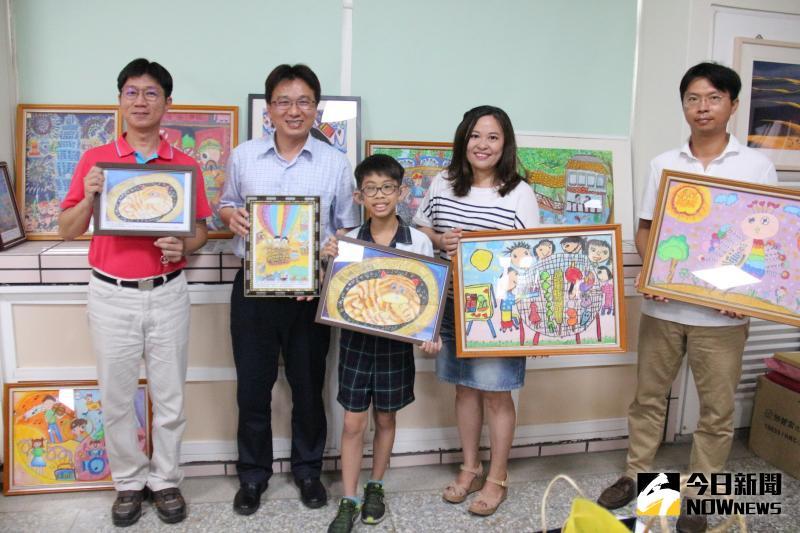 影/聽障少年賴辰彥熱愛繪畫 榮獲<b>總統教育獎</b>