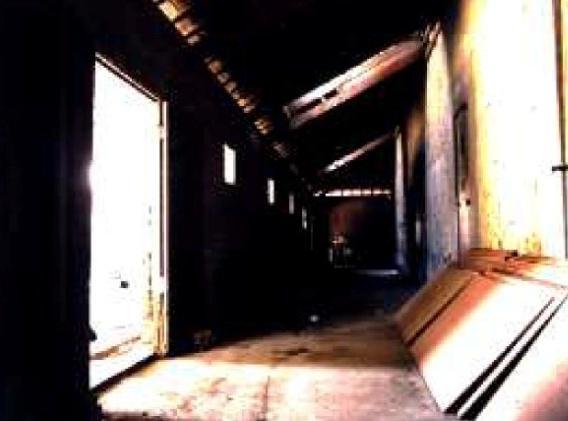 ▲福興穀倉營運中心修復工程開工典禮-修建前。(文化局提供