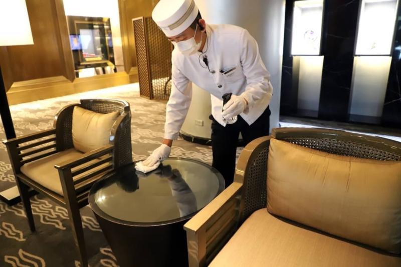 口罩環保危機8/口罩回收模範 飯店日耗5百片防護百分百