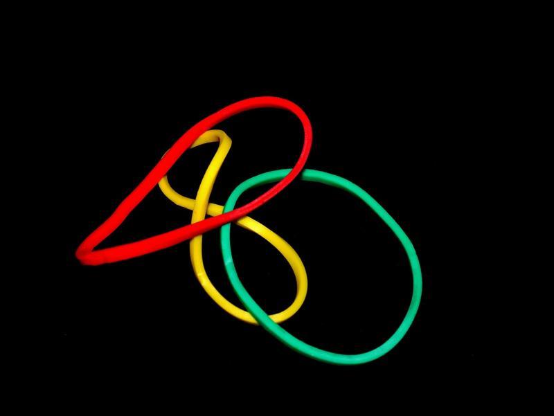 ▲為何橡皮筋顏色都是「黃、綠、紅」?網紅抖出驚人秘密。(示意圖/翻攝自 pixabay )