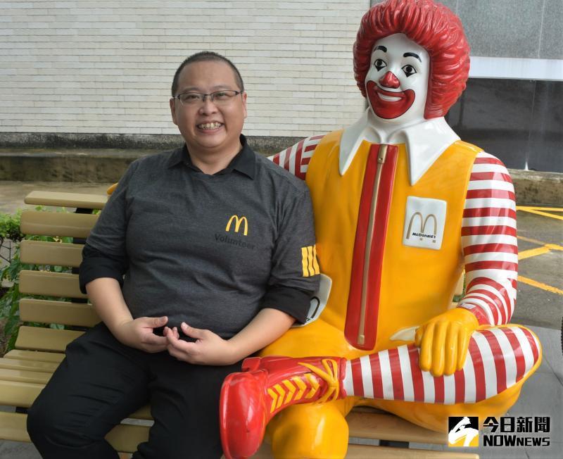 ▲來自高雄的唐有建,加盟麥當勞已7年多。(圖/記者郭政隆攝影2020.5.28)