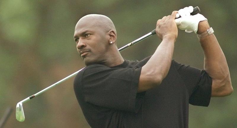 高爾夫球是Michael Jordan的長年興趣。(圖/美聯社/達志影像)