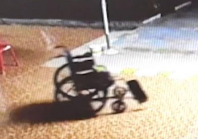 「泰」驚悚!輪椅出現在奇怪位置 醫院調監視器後看傻