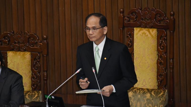 立法院休會 游錫堃:下會期成立修憲委員會