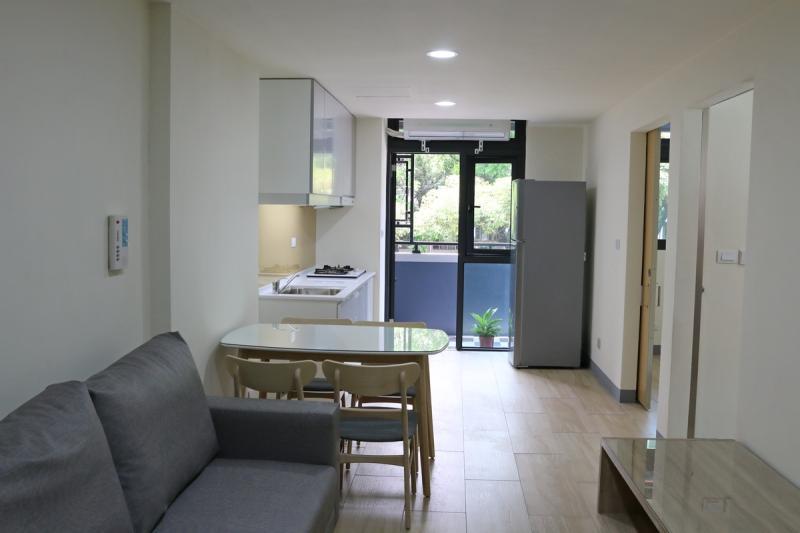 ▲「大同社會住宅」房型均為2房1廳1為房型,室內空間約14坪,內部裝潢與設備一應俱全。(圖/高市府提供)