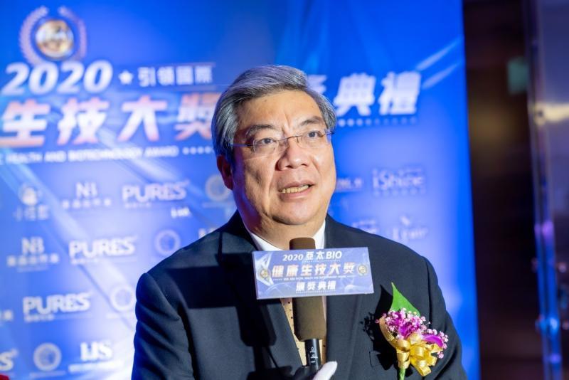 ▲受訪者:台北市生物技術服務商業同業公會