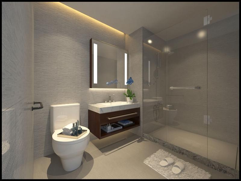 浴室乾溼分離