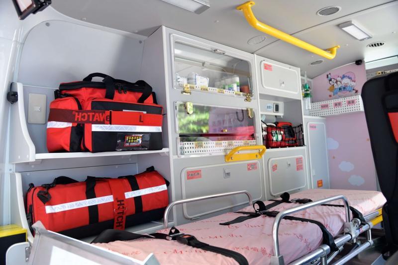 ▲救護車內部裝備完善、先進,大大提升緊急救護品質。(圖/記者蘇榮泉攝,2020.05.30)