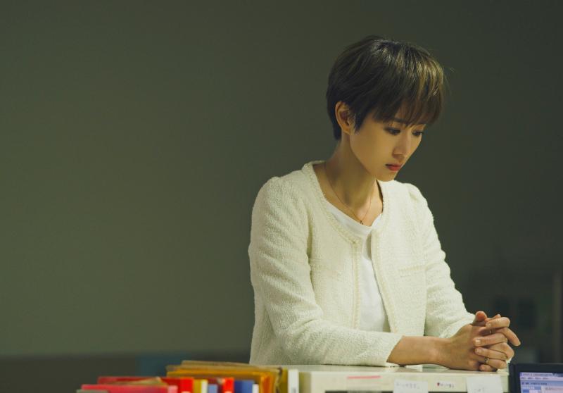 ▲張鈞甯跳脫形象為戲剪「男生頭」俐落短髮。(圖