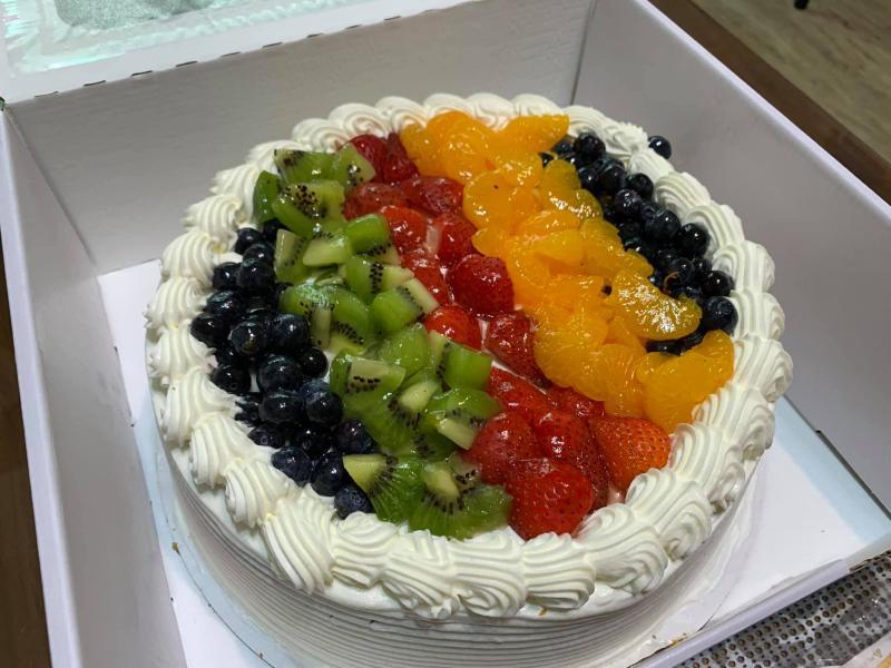▲綜合果蛋糕