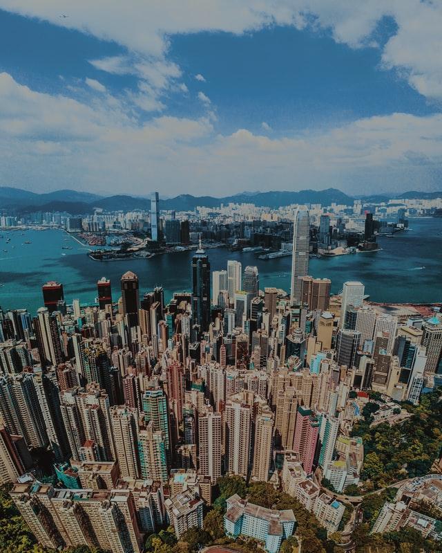 ▲香港房價高得驚人。(示意圖/取自Unsplash)